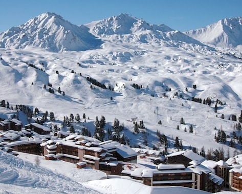 Seasonaire accommodation in La Plagne