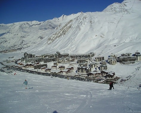 seasonaire accommodation in tignes